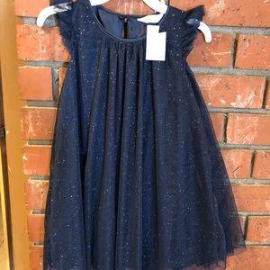 Brand new bling bling navy dress.